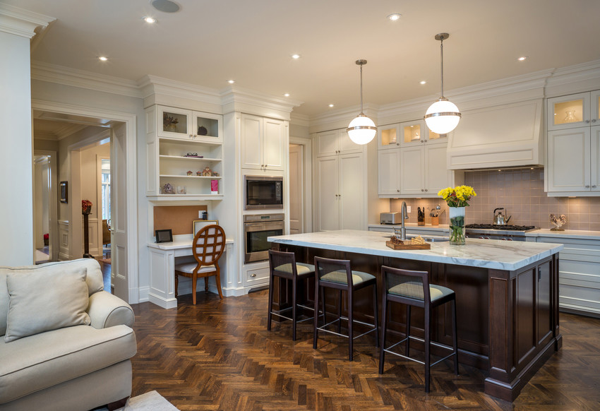 beautiful new kitchen in a home in wellesley clayton