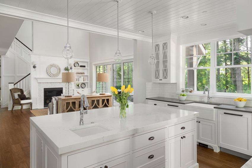 gourmet kitchen in a home in forest oaks, one of the best johnston county neighborhoods